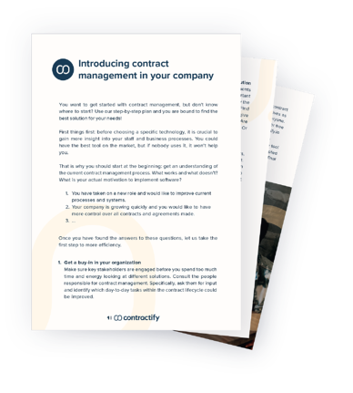 Contractify contract mgmt implementation cover